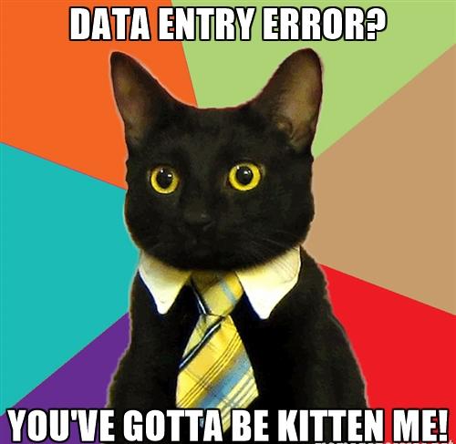 data-entry-error