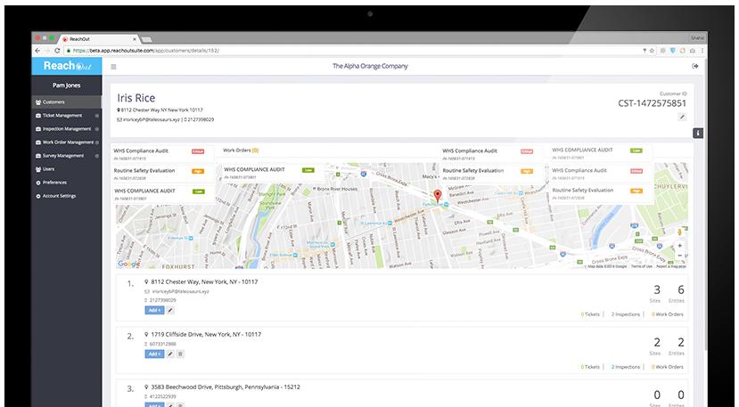 Customer Details - ReachOut Suite