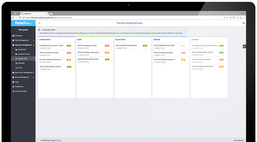 Kanban View for Work Order Software