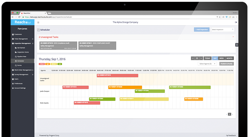Work Order Management Software with Scheduler - ReachOut Suite