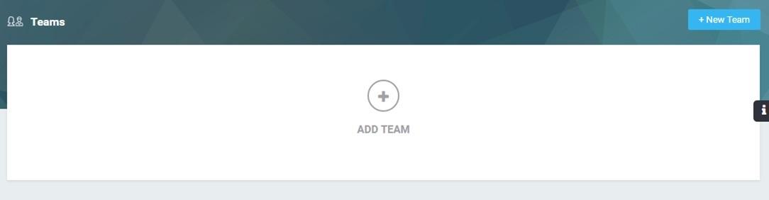 Add a Team