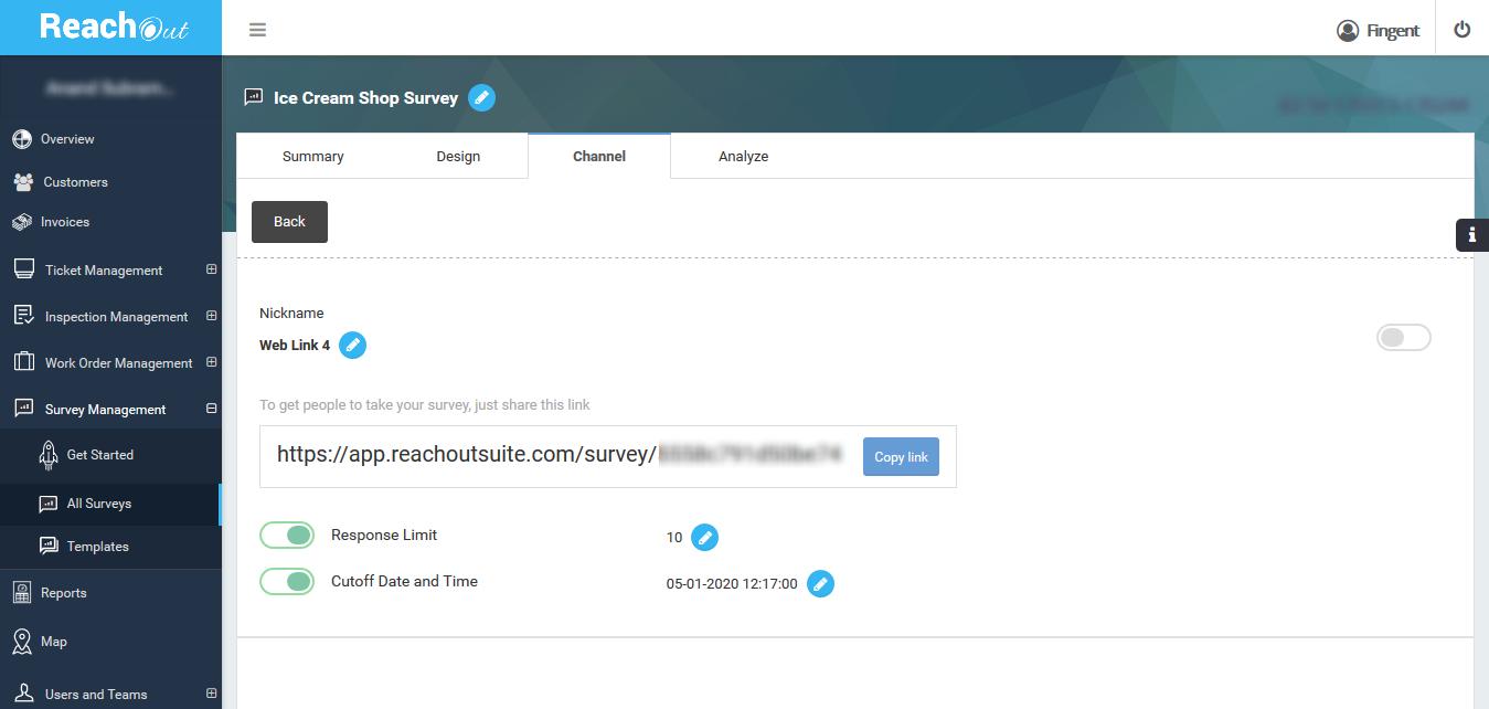 Survey Web Link